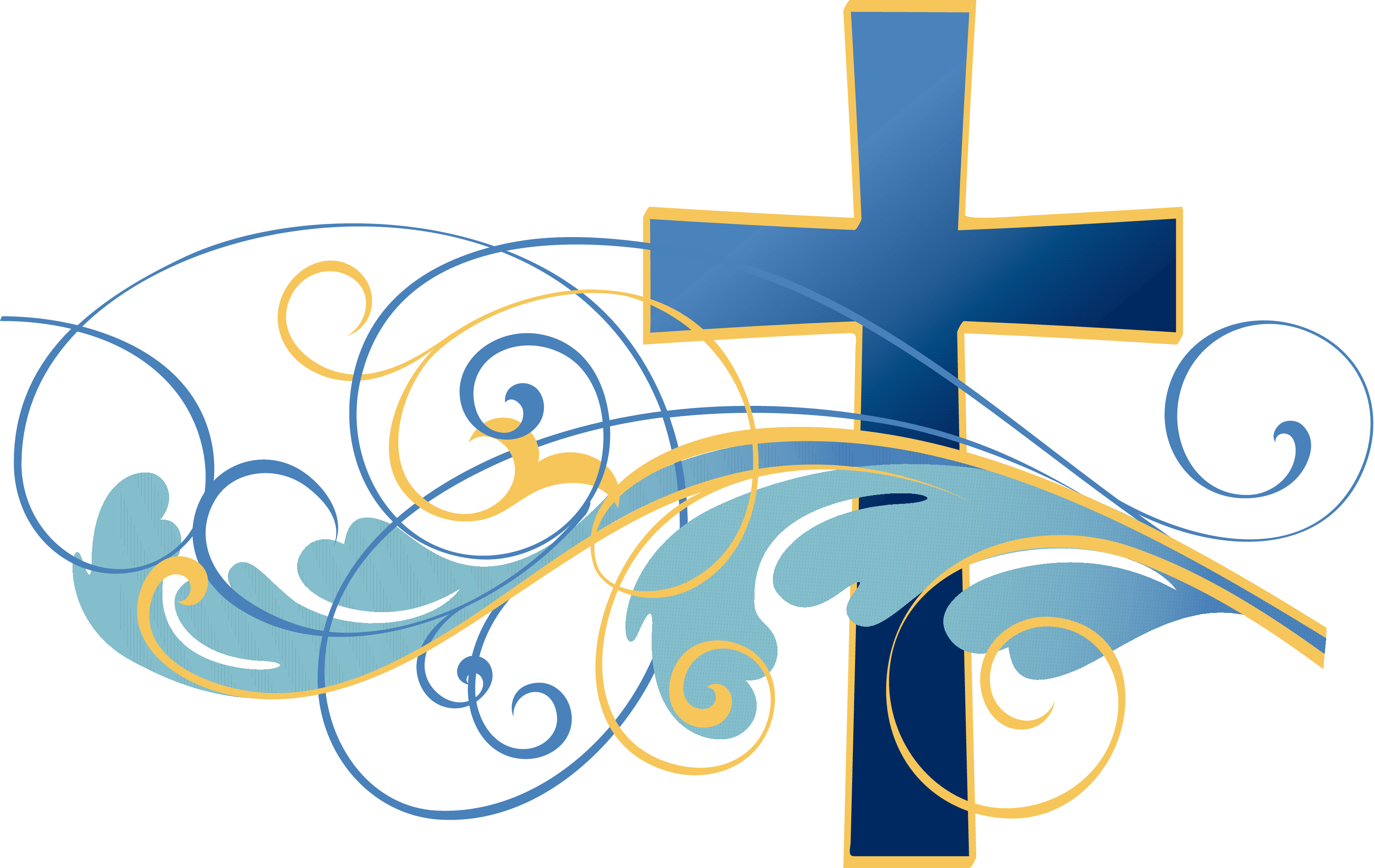 Methodist church cross clipart banner royalty free stock Swirls-and-Christian-Cross-Clipart[1] | Woman In The Pulpit | Pinterest banner royalty free stock