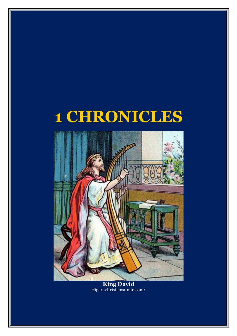 Clipart christiansunite banner freeuse stock THE FIRST BOOK OF THE CHRONICLES banner freeuse stock