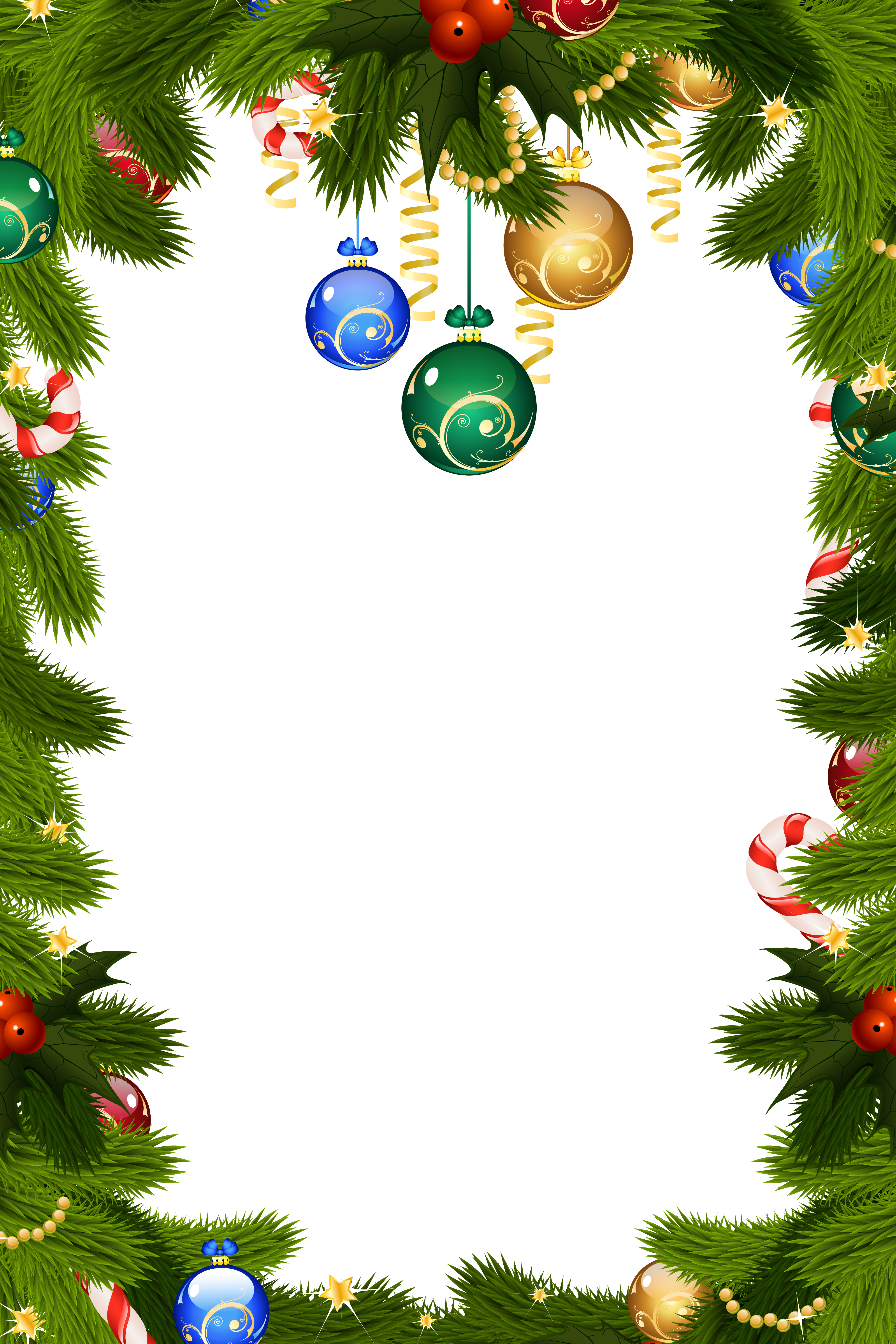 Clipart christmas background png royalty free library Transparent Christmas PNG Frame Border | Gallery Yopriceville ... png royalty free library