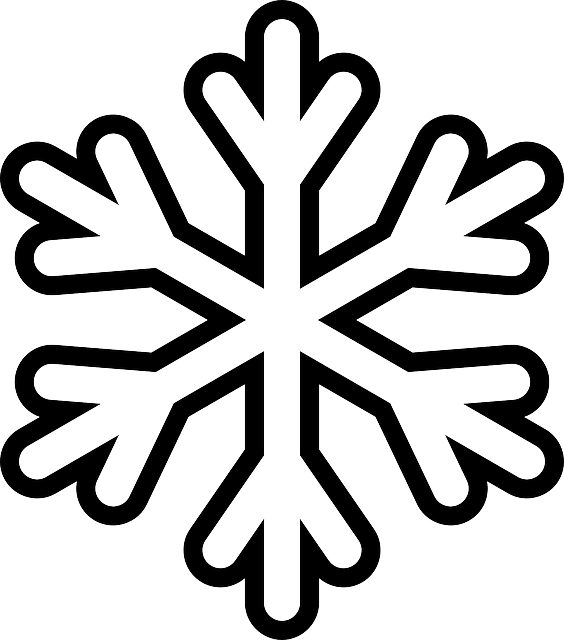 Clipart christmas black and white snowflake black and white stock Snowflake Colouring Pages | Pinterest | Playrooms, Snow flakes and ... black and white stock