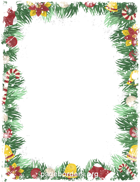 Free christmas clipart for flyers freeuse stock Pin by Muse Printables on Page Borders and Border Clip Art ... freeuse stock