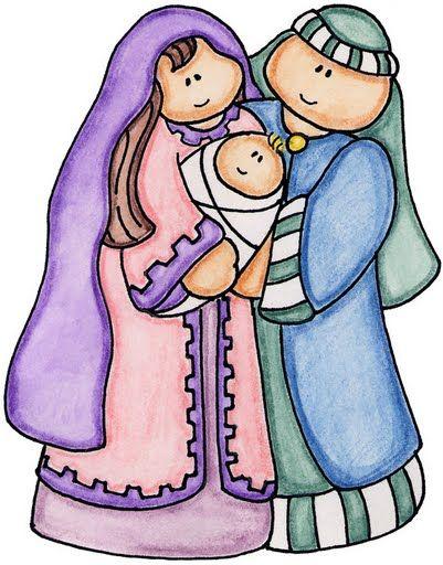 imagens para decoupage. Clipart christmas borders mary baby jesus