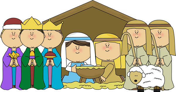 Clipartfest white and nativity. Clipart christmas borders mary baby jesus
