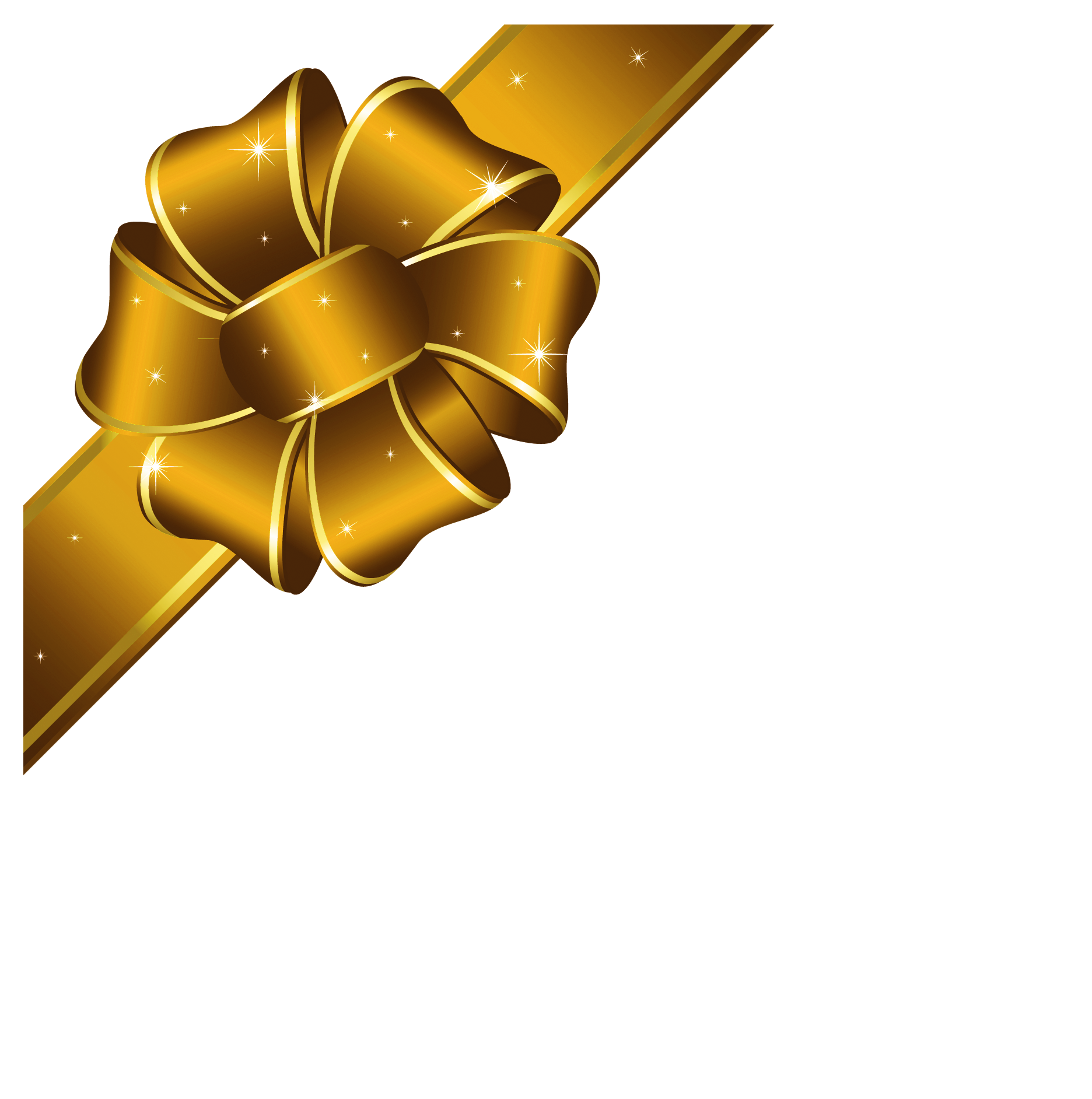 Clipart christmas bow svg download Gold Christmas Bow Png | lacalabaza svg download