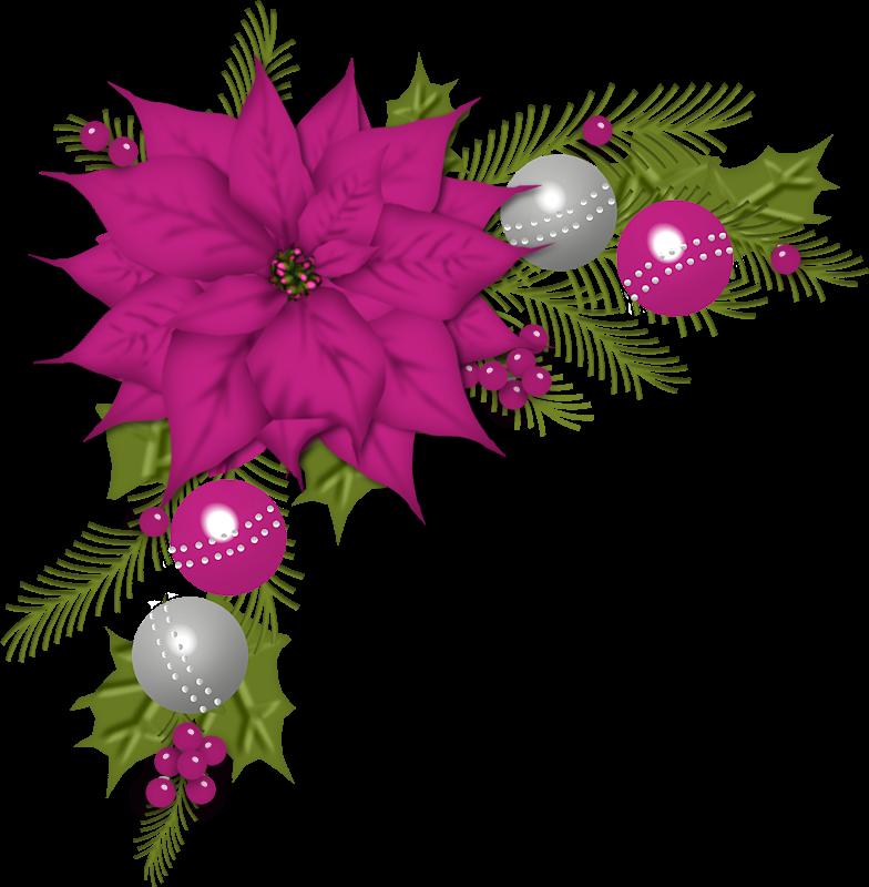 Clipart christmas cross clip art black and white stock Barras y separadores: Esquineros navideños | dibujos | Pinterest ... clip art black and white stock