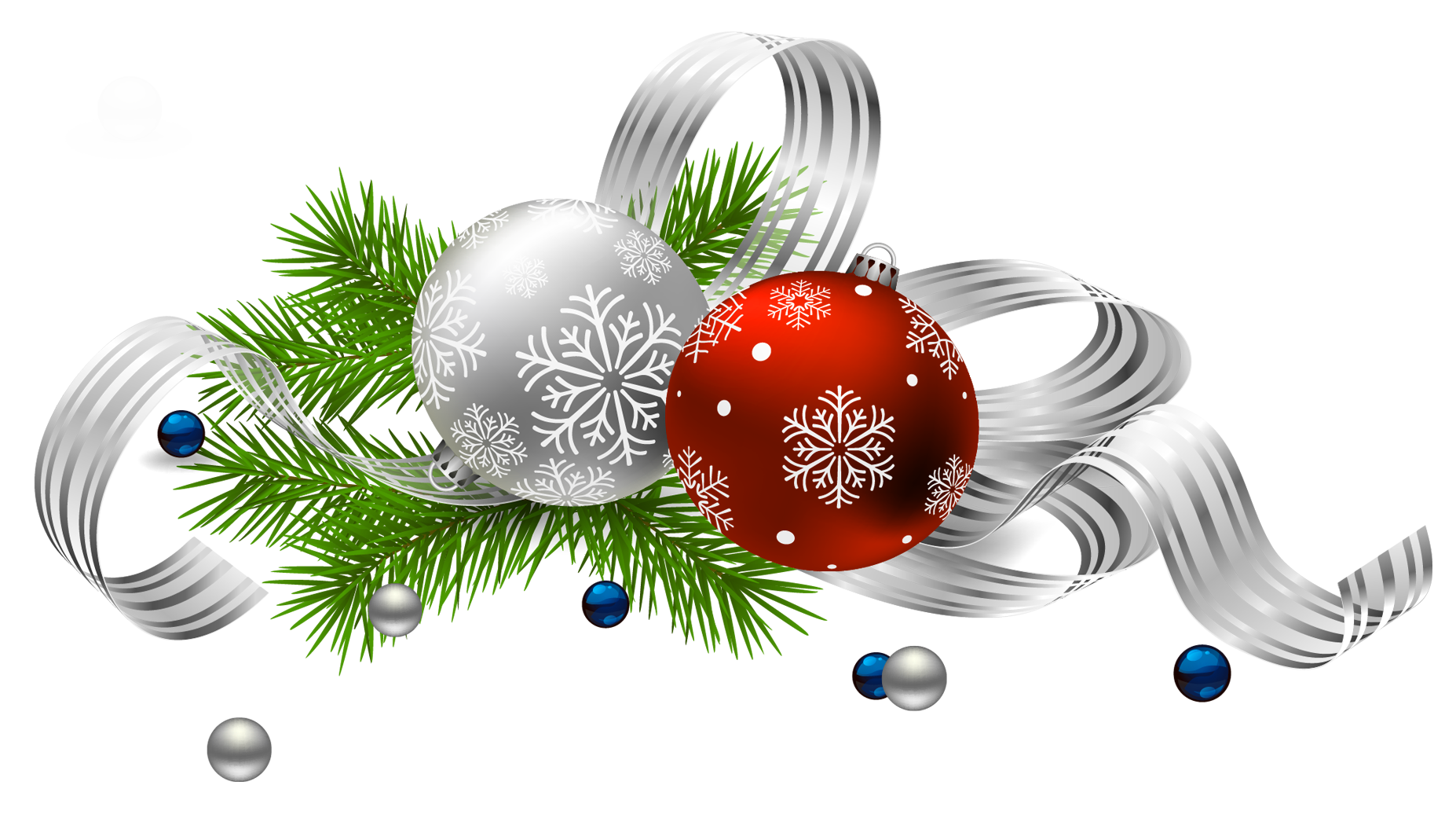 Clipart christmas decorations vector black and white library Transparent Christmas Decoration PNG Picture | CHRISTMAS | Pinterest ... vector black and white library