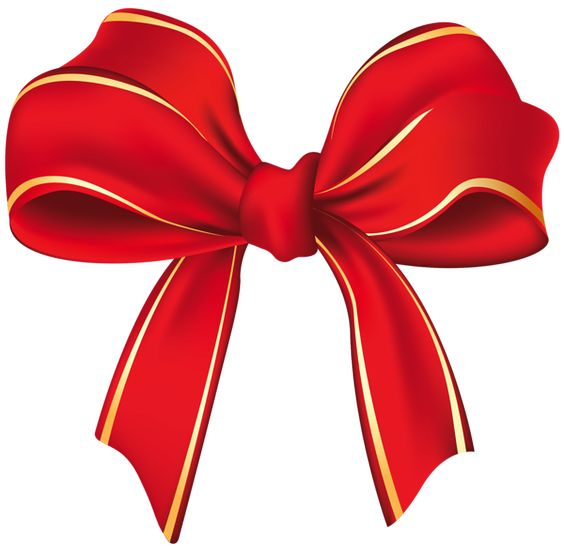 Clipart christmas flower and ribbon png library Clipart christmas flower and ribbon png - ClipartFest library