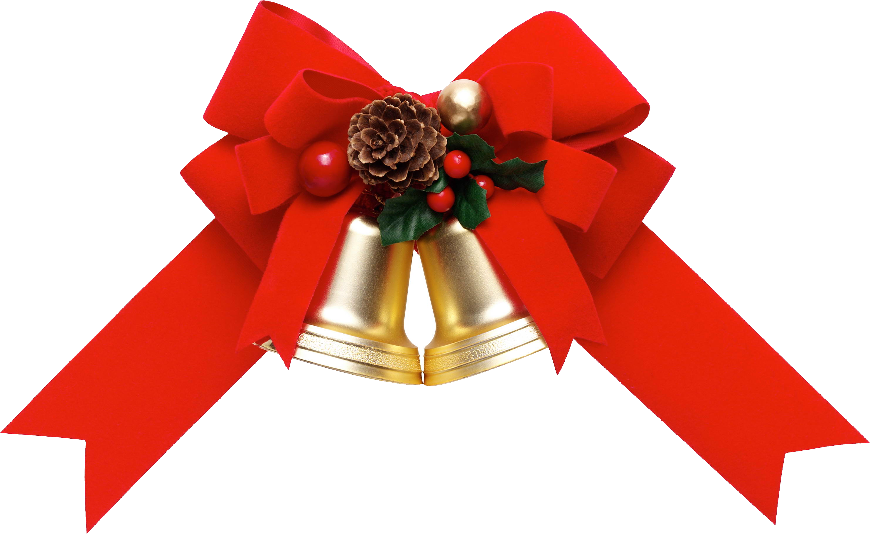 Clipart christmas flower and ribbon png graphic free download Clipart christmas flower and ribbon png - ClipartFest graphic free download