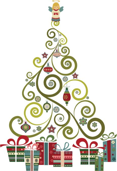 Clipart christmas invitation svg Christmas tree christmas invite ideas on christmas templates vintage ... svg