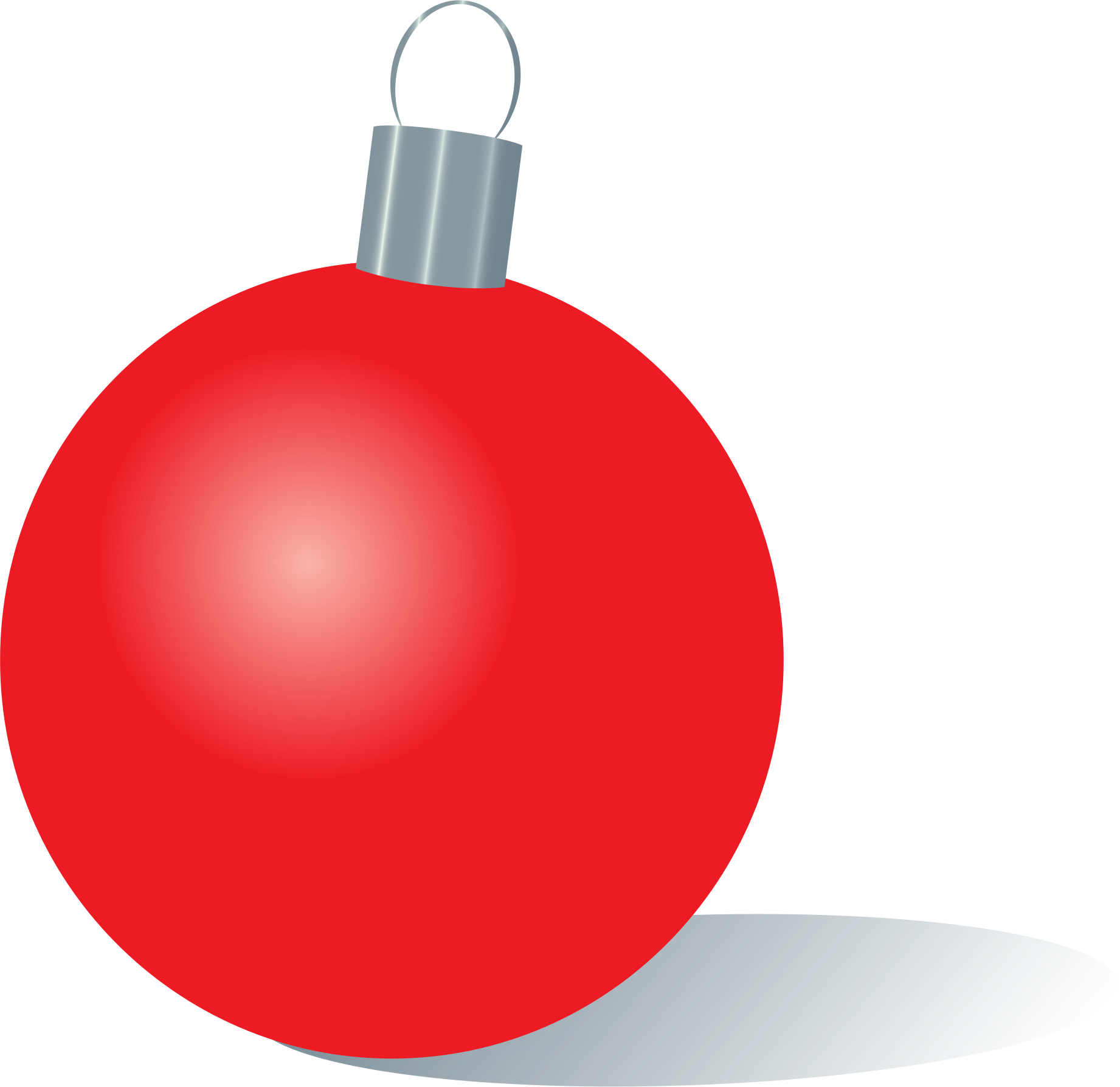 Clipart christmas ornament picture library download Clipart - Red Christmas Ornament picture library download