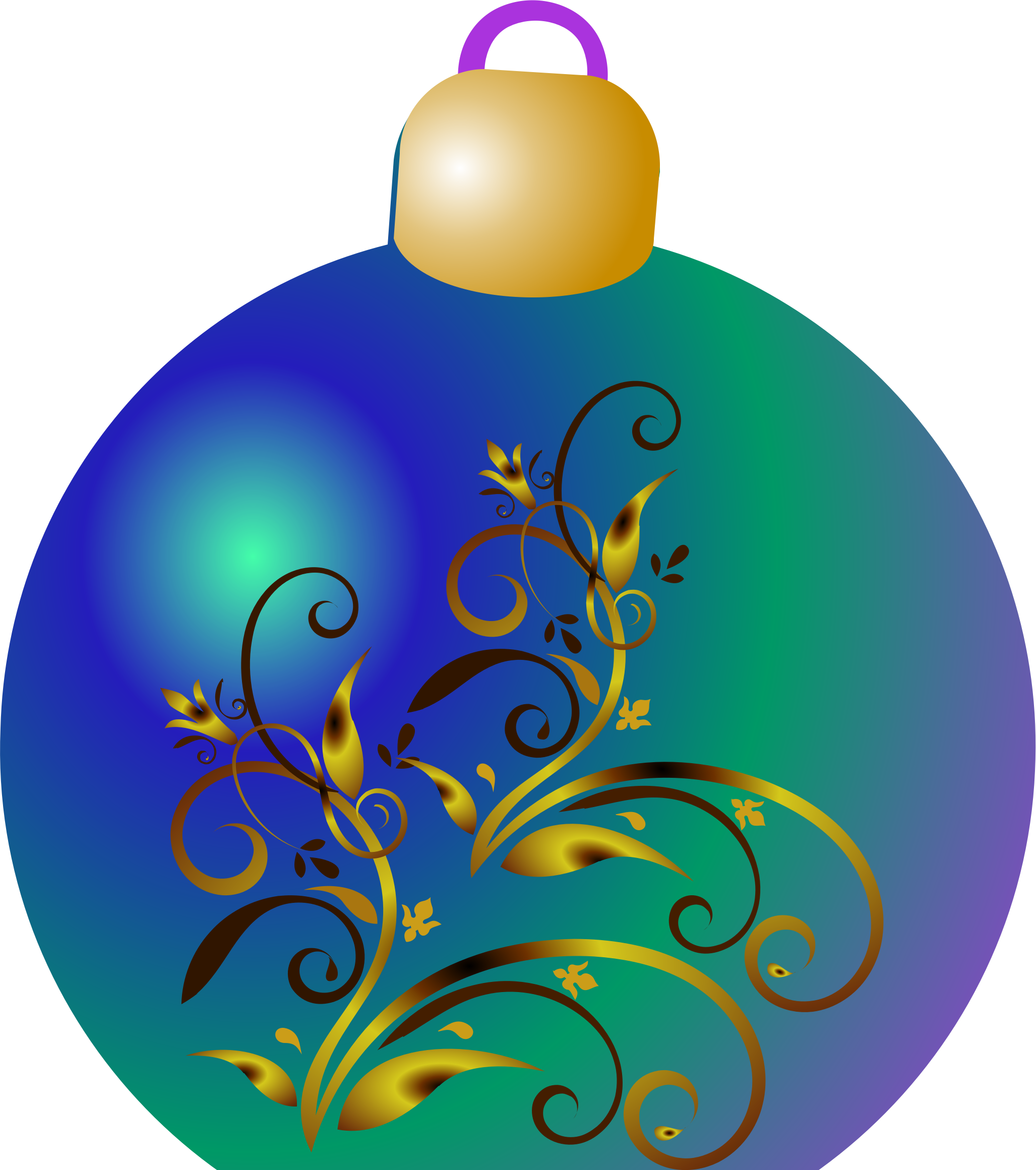 Clipart christmas ornament graphic download Clipart - Christmas ornament graphic download