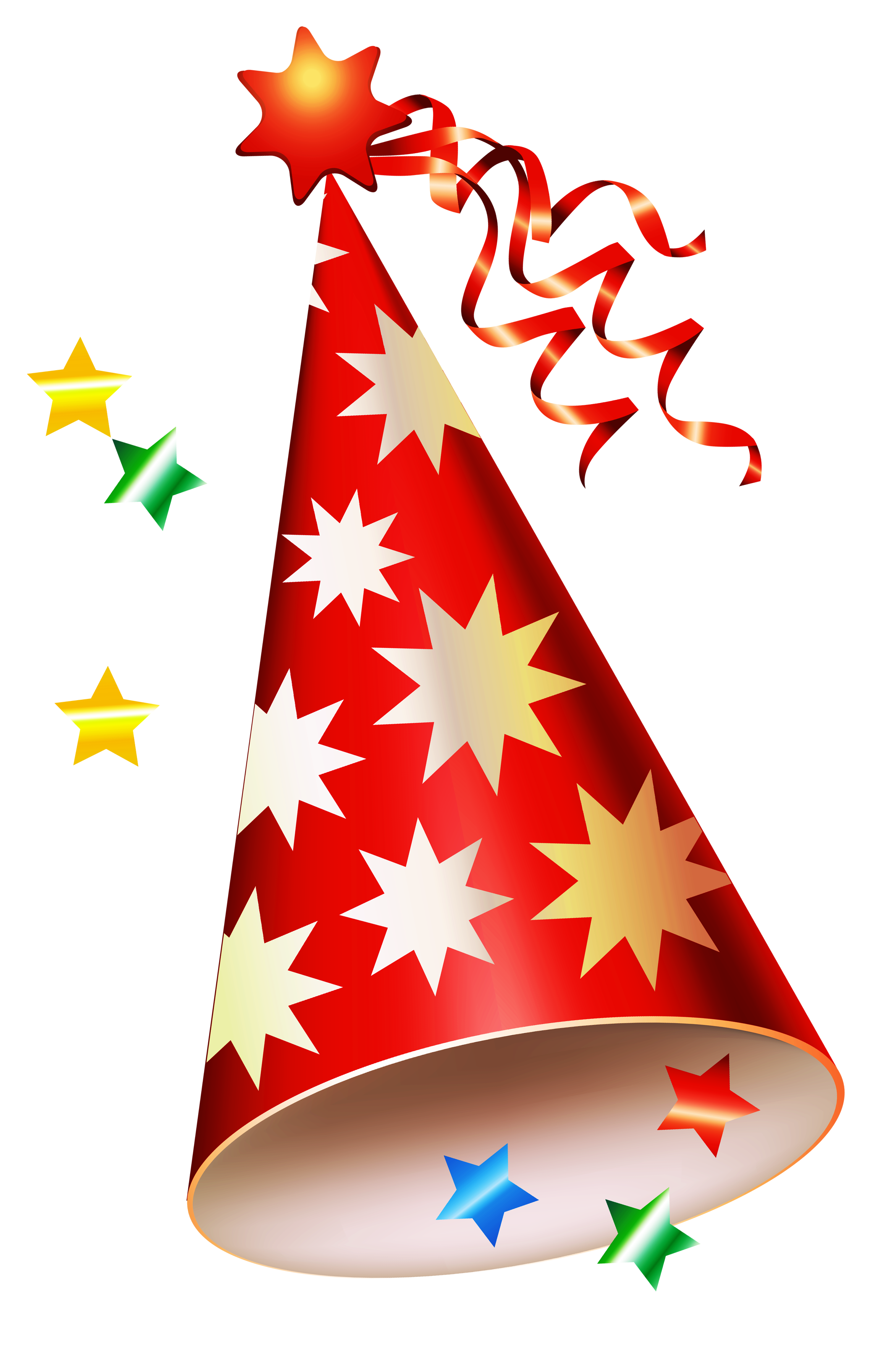 Clipart christmas party clip black and white library Red Party Hat Transparent PNG Clipart | Gallery Yopriceville - High ... clip black and white library