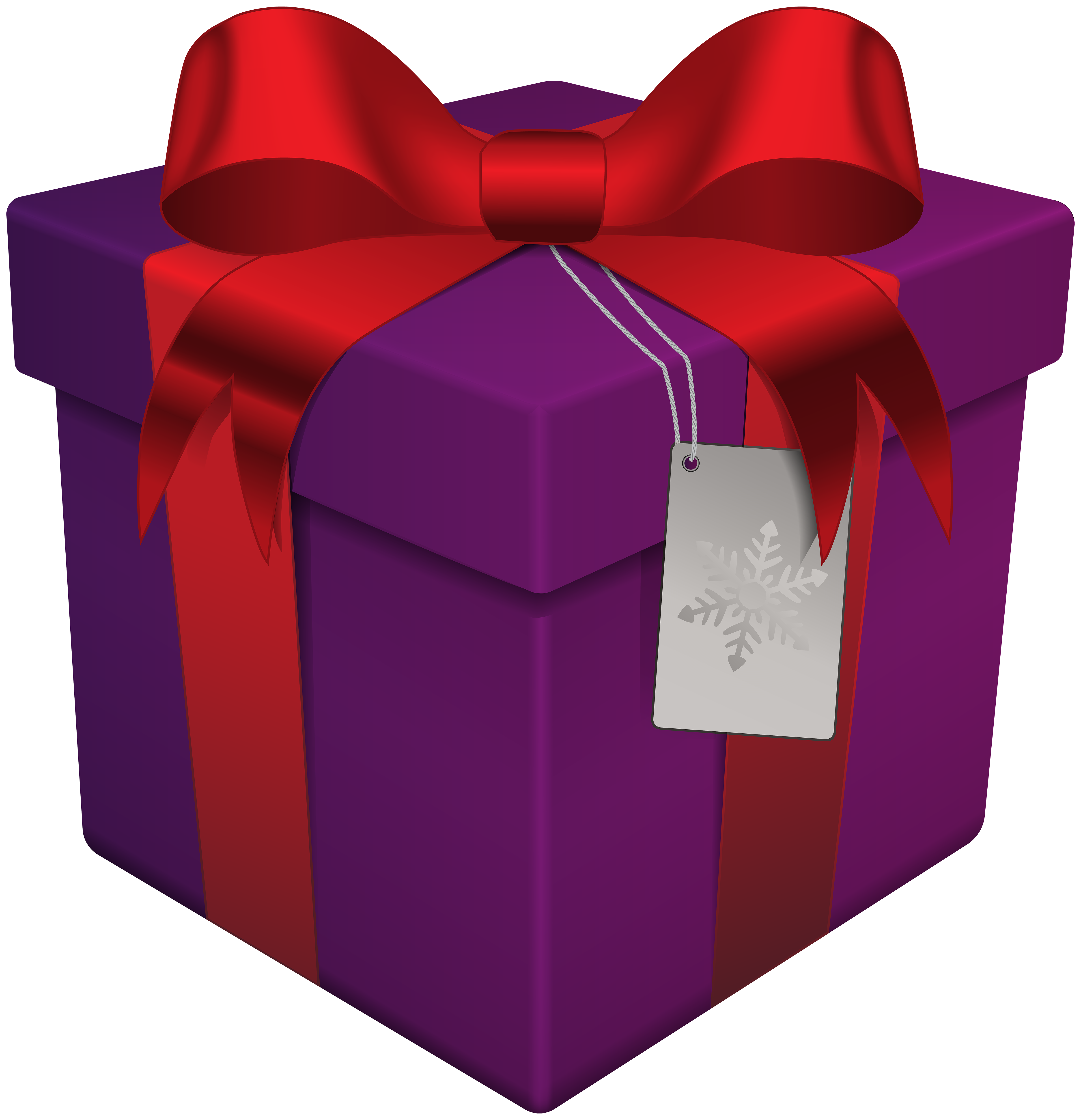 Clipart christmas present clip art black and white stock Christmas Gift Box Purple Transparent PNG Clip Art | Gallery ... clip art black and white stock