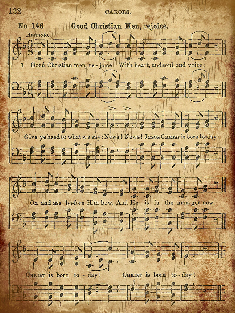 Clipart christmas sheet music svg 17 Best images about Christmas Carols on Pinterest   The little ... svg