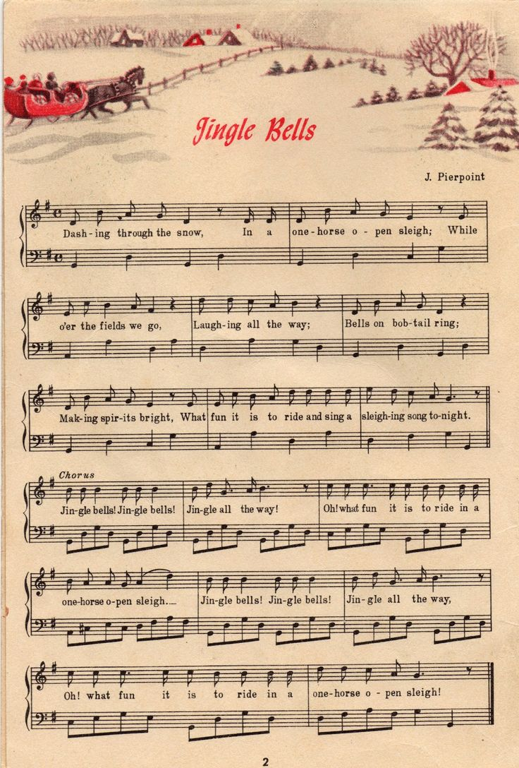 Clipart christmas sheet music banner black and white stock 15 Must-see Christmas Sheet Music Pins   Vintage sheet music ... banner black and white stock