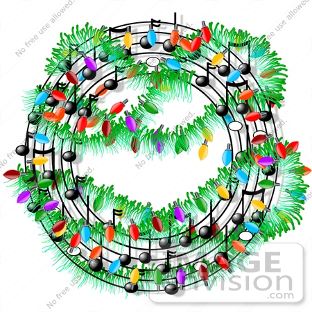 Clipart christmas sheet music clipart library download Circular Christmas Sheet Music Clipart   #12596 by DJArt   Royalty ... clipart library download