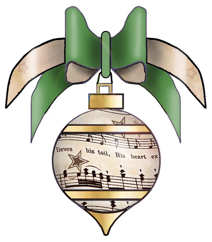Clipart christmas sheet music transparent stock Christmas Music Free Clipart - Clipart Kid transparent stock