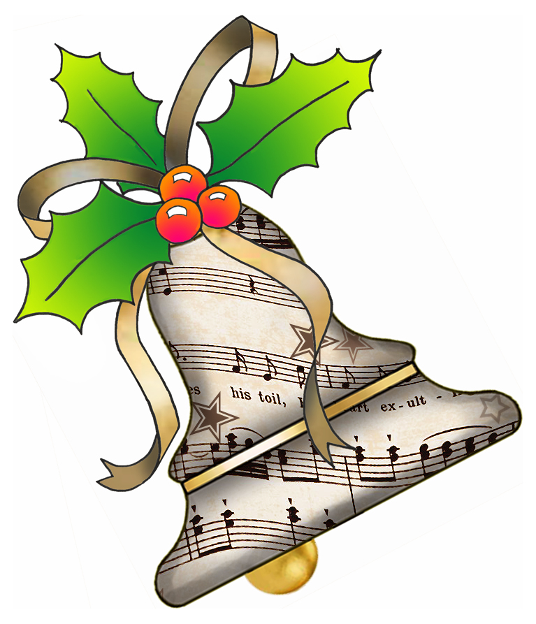 Clipart christmas sheet music jpg library download Christmas Music Free Clipart - Clipart Kid jpg library download