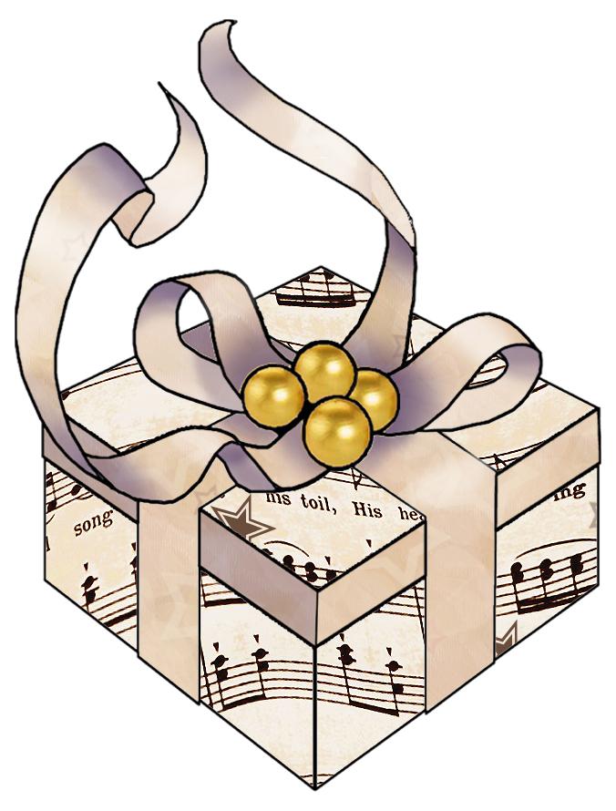 Clipart christmas sheet music vector free Christmas Music Free Clipart - Clipart Kid vector free
