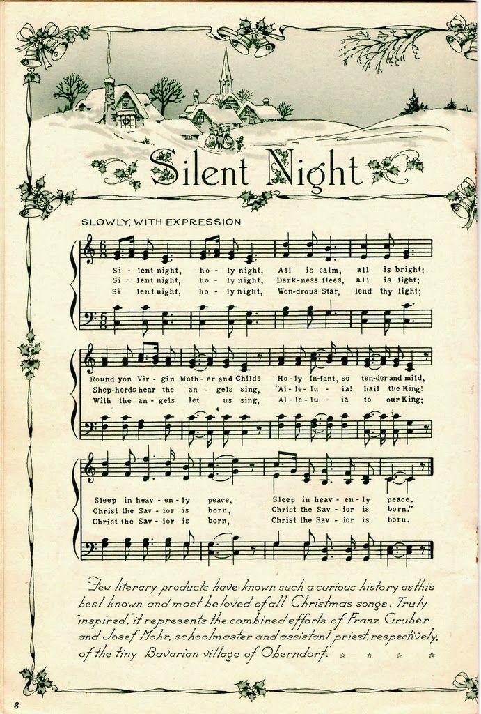 Clipart christmas sheet music clip art free library 15 Must-see Christmas Sheet Music Pins   Vintage sheet music ... clip art free library