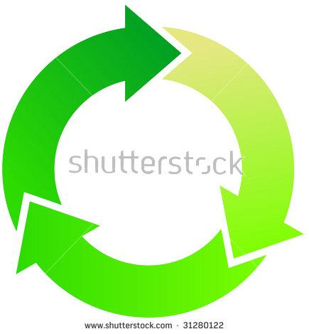 arrows stock images. Clipart circle arrow