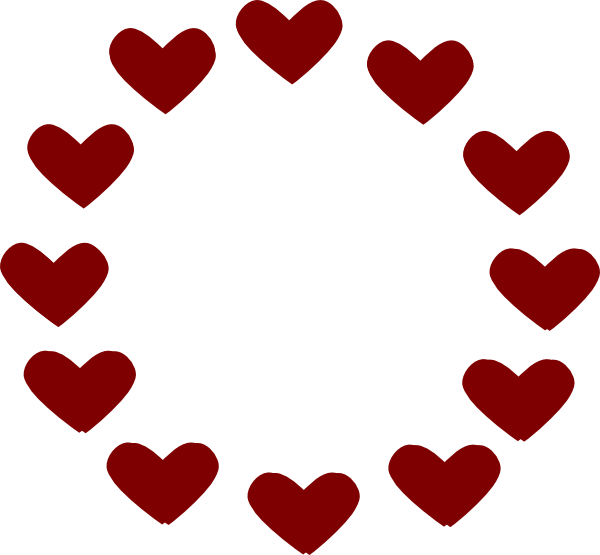 Clipart circle of hearts free stock Hearts clipart circle for free download and use images in ... free stock