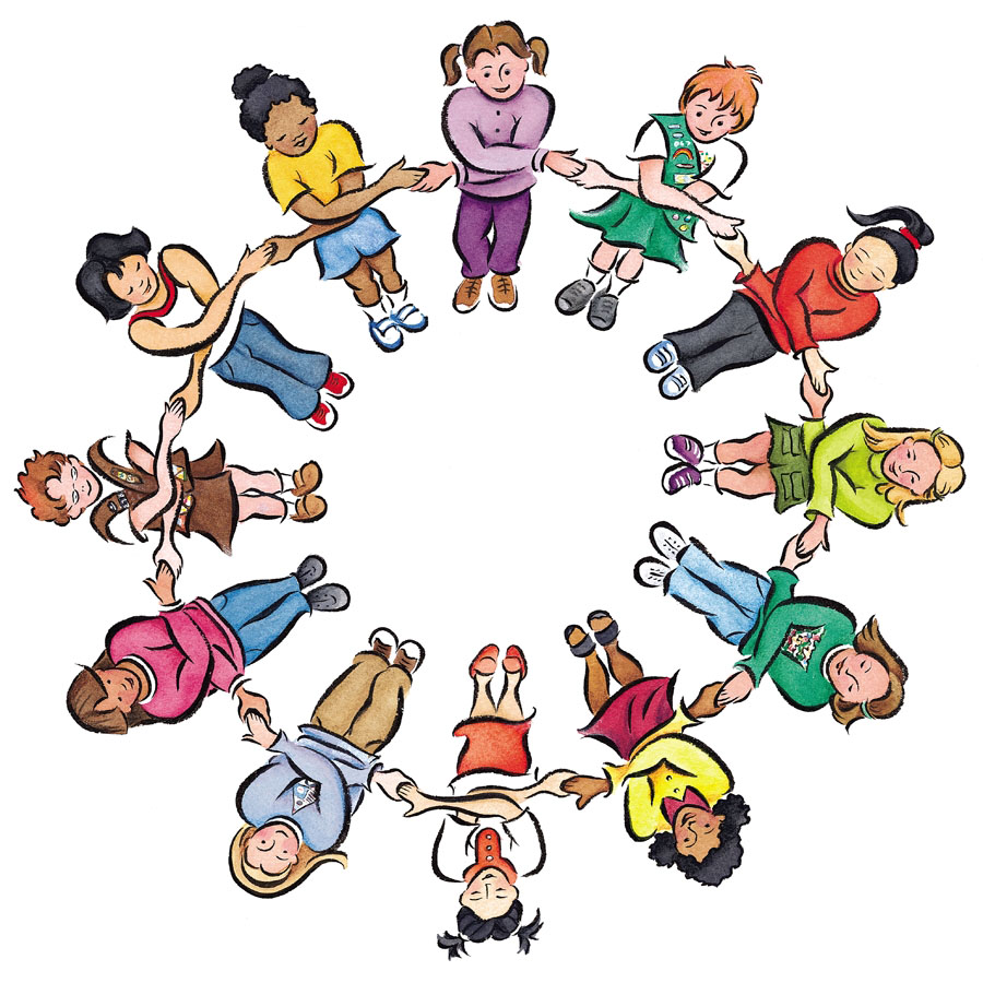 Clipart circle of students clipart library stock Free Group Circle Cliparts, Download Free Clip Art, Free Clip Art on ... clipart library stock