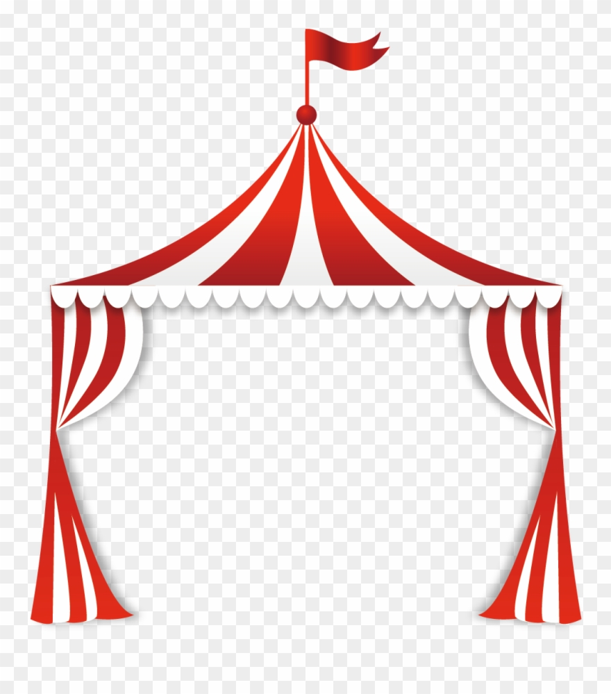 Clipart circus tent clip art royalty free library Circus Tent Clip Art - Circus Tent Top Clipart - Png Download ... clip art royalty free library