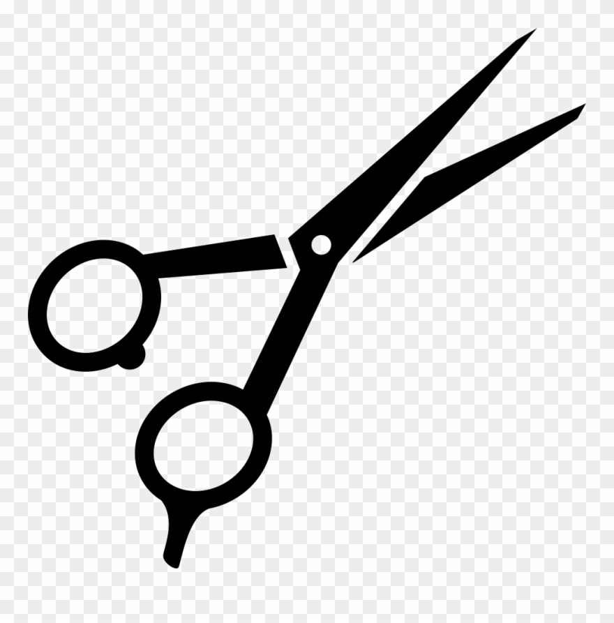 Clipart cissor jpg free stock Haircut Clipart Shears - Hair Scissors Clip Art - Png Download ... jpg free stock