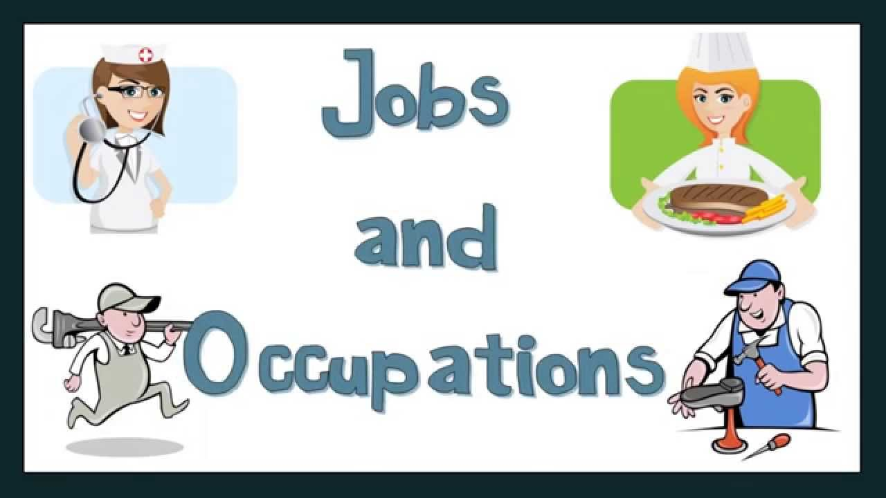 Clipart classification of occupations picture library download Talking about Jobs and Occupations: English Language picture library download