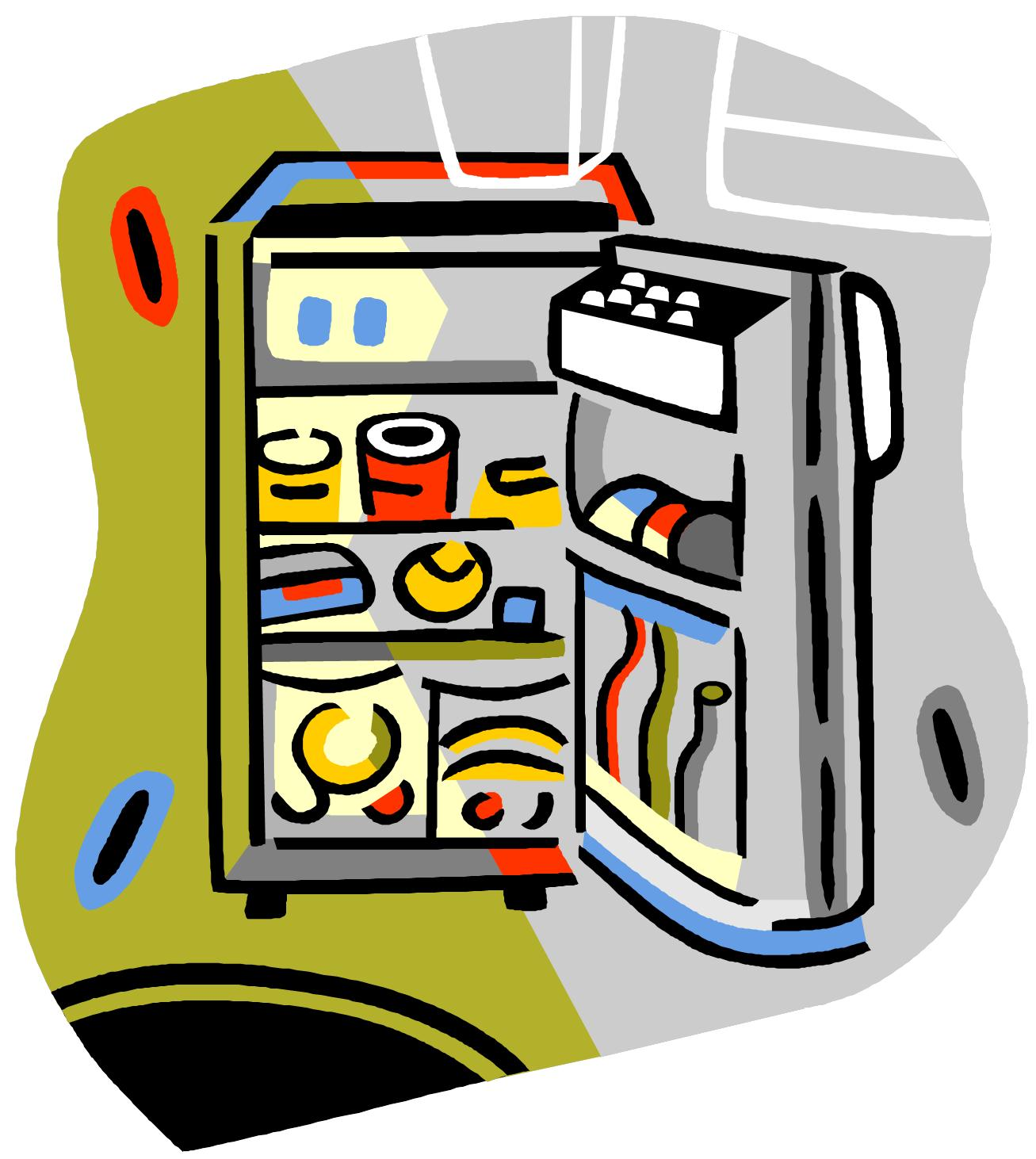 Clipart clean out refrigerator graphic Organization « Social Media @ Windmill Library graphic