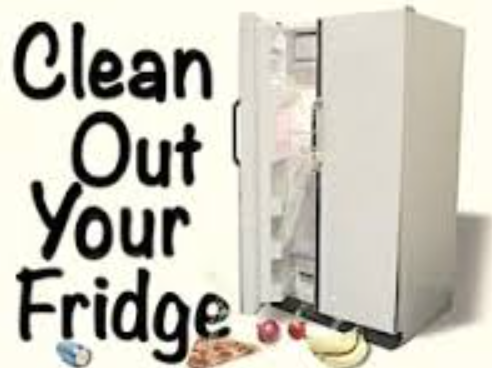 Clipart clean out refrigerator banner freeuse download Clean Out Your Fridge Day banner freeuse download