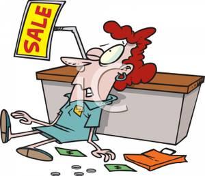 Free . Clipart clerk