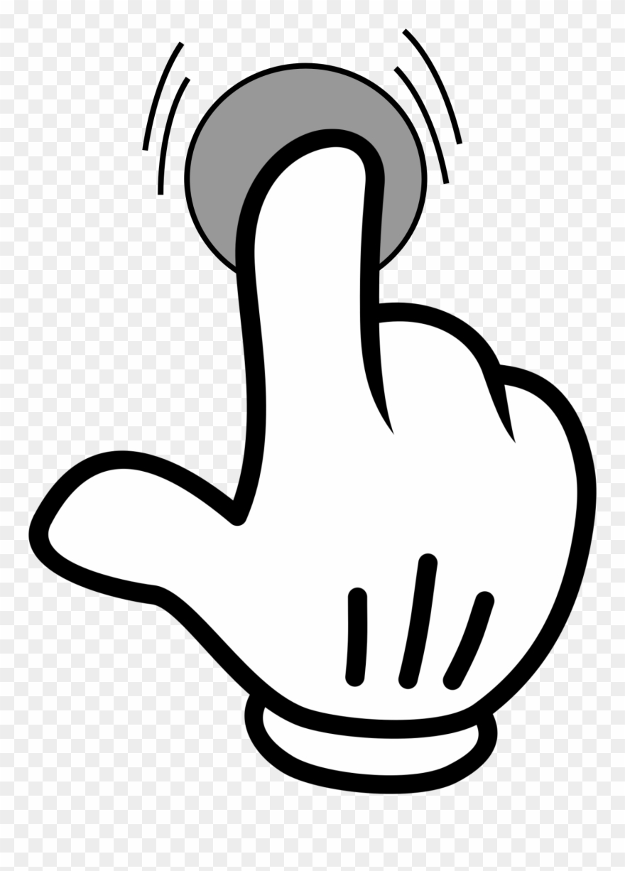 Clipart click clipart stock Index Finger Pointing Hand Computer Icons - Click Icon .png Clipart ... clipart stock