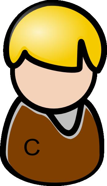 Clipart client clip library download Men Blue With C Client Clip Art at Clker.com - vector clip art ... clip library download