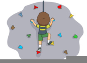 Clipart climbing clipart black and white download Rock Climbing Wall Clipart | Free Images at Clker.com - vector clip ... clipart black and white download