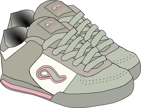 Clipart clothes and shoes clip art royalty free stock Clothing Shoes Sneakers Clip Art at Clker.com - vector clip art ... clip art royalty free stock