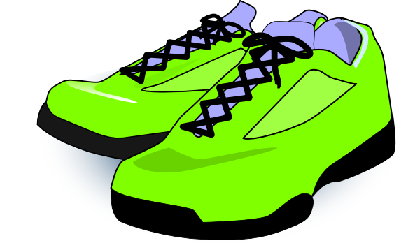 Pictures download clip art. Free clipart tennis shoes