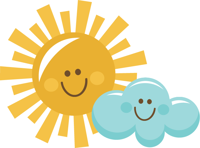 The sun shining clipart png picture black and white download Happy Sun And Cloud SVG scrapbook title sun svg cut file sun cut ... picture black and white download