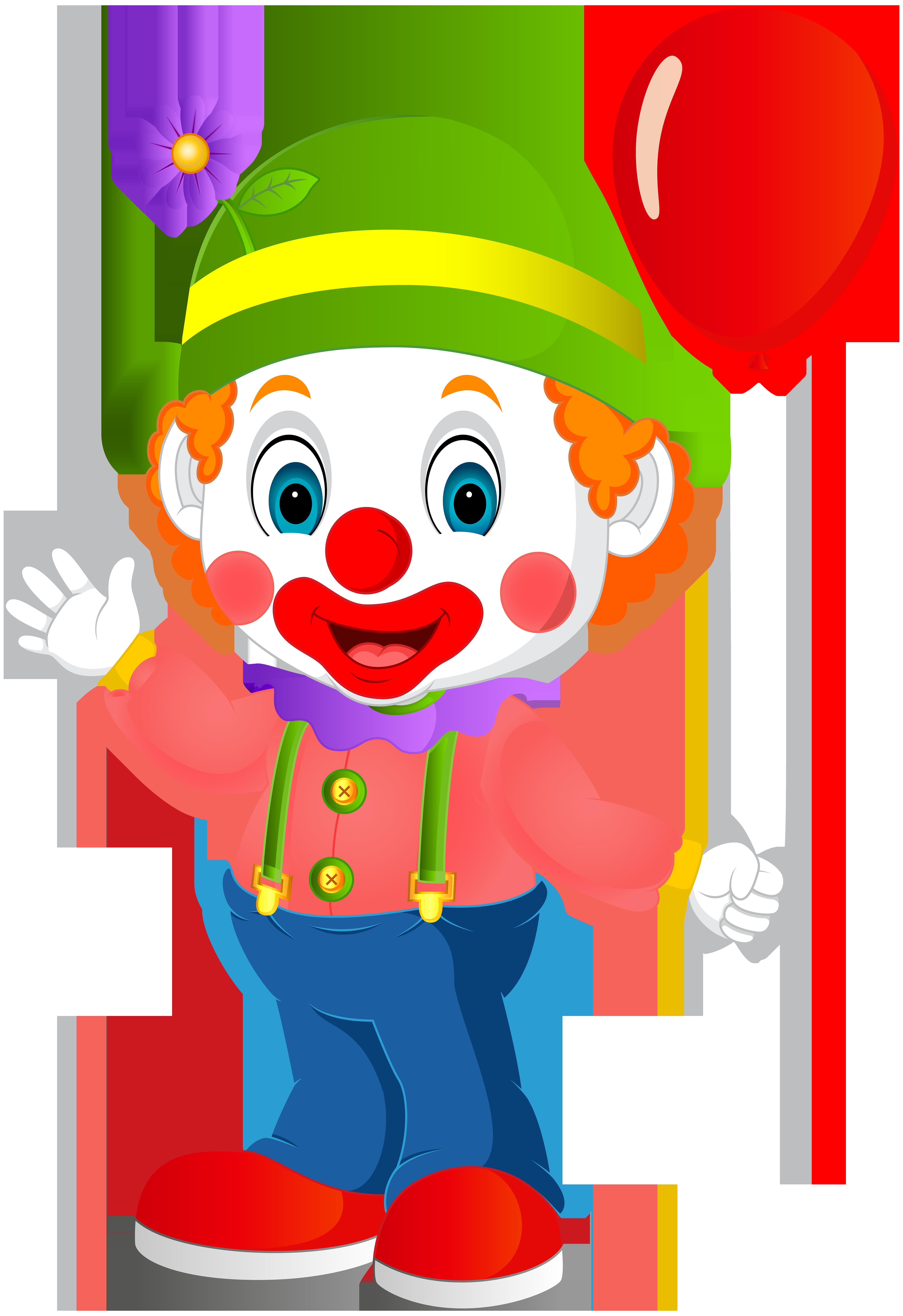 Clipart clown clip transparent download Cute Clown Transparent PNG Clip Art Image | Gallery Yopriceville ... clip transparent download