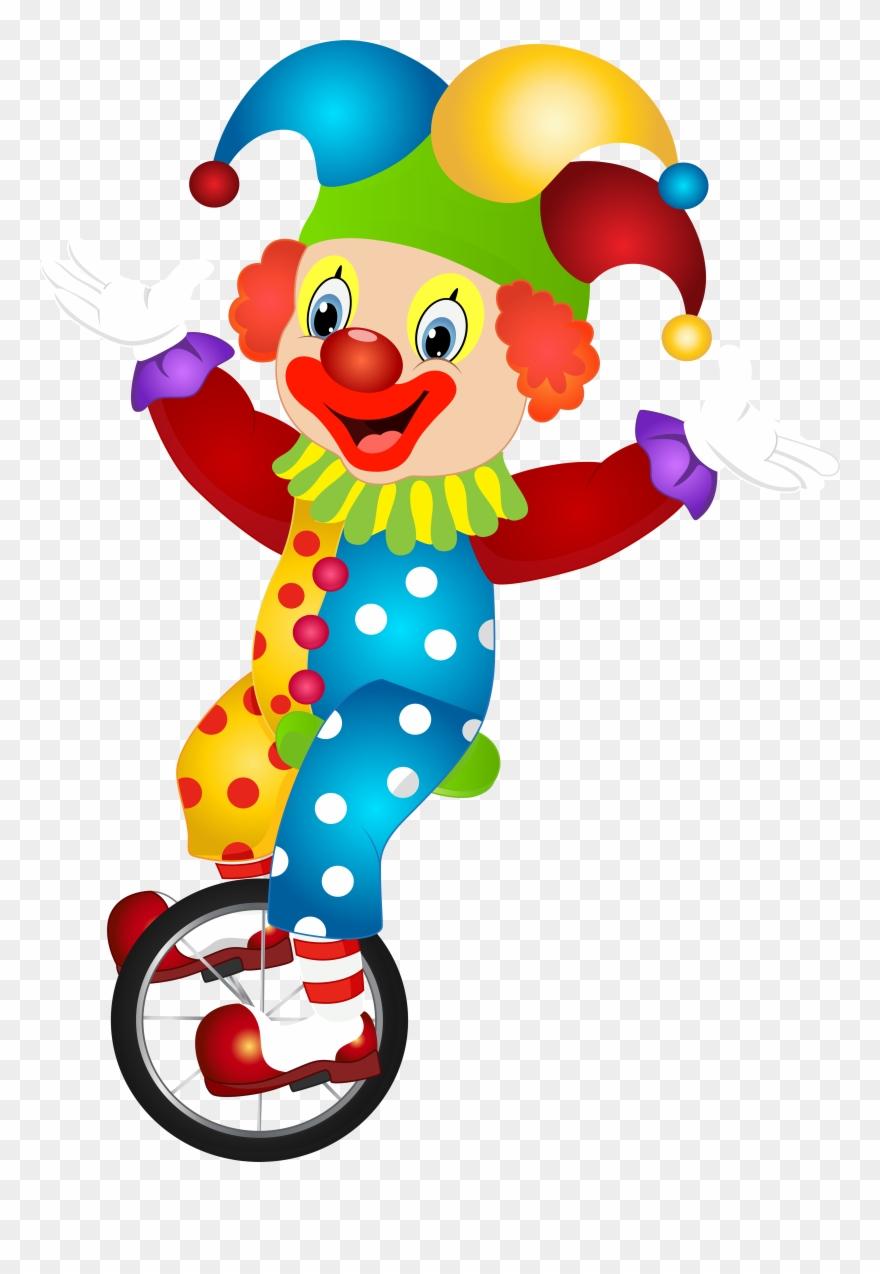 Clipart clown free library Cute Clown, Clip Art E Art Images - Cartoon Clown - Png Download ... free library