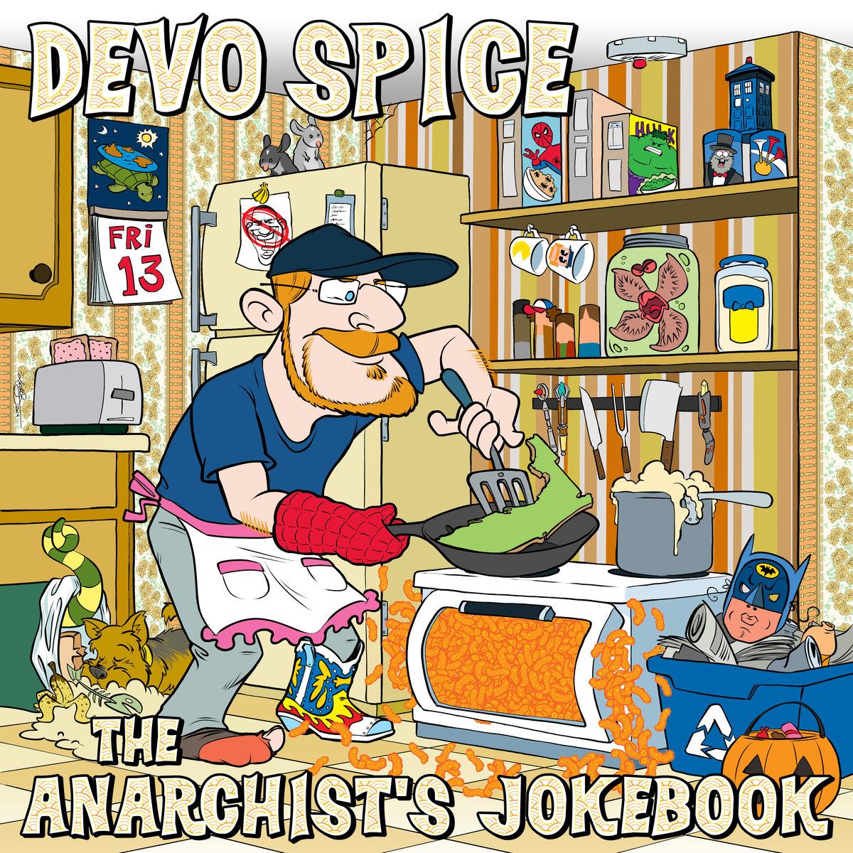 Clipart clown van with head thru roof banner transparent The Anarchist\'s Jokebook | Devo Spice banner transparent