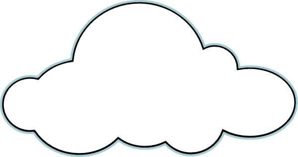 Google cloud clipart svg freeuse library Cloud Clipart | Clipart Panda - Free Clipart Images svg freeuse library