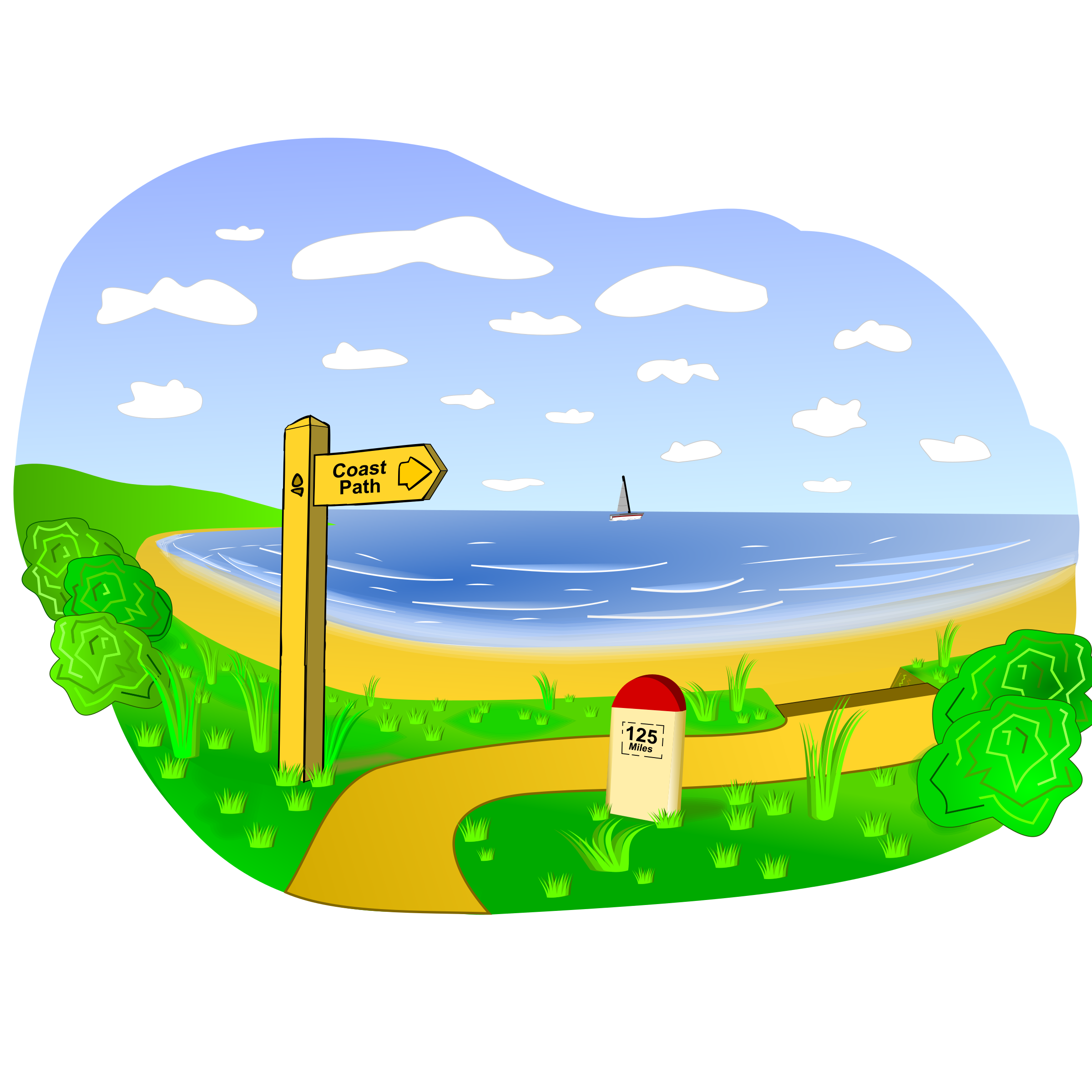 Clipart coast banner Free Coastal Cliparts, Download Free Clip Art, Free Clip Art on ... banner