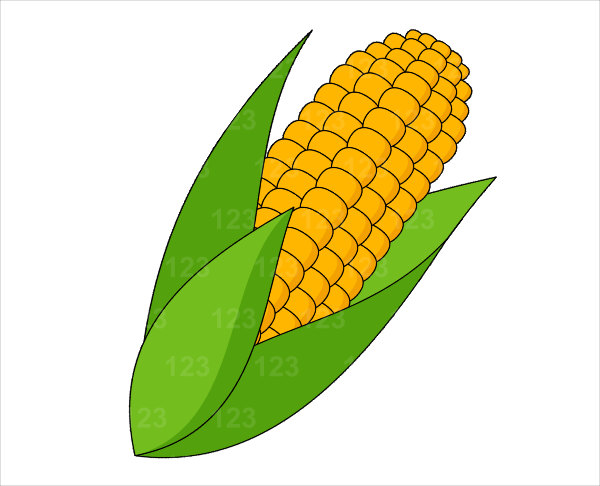 Clipart of corn banner black and white stock 85+ Corn On The Cob Clipart | ClipartLook banner black and white stock