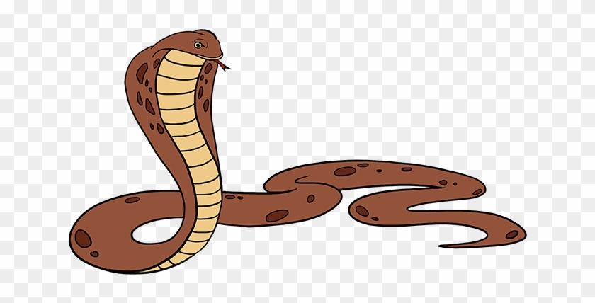 Clipart cobra snake svg royalty free library Rattlesnake Clipart Simple Snake - King Cobra Drawing Png ... svg royalty free library
