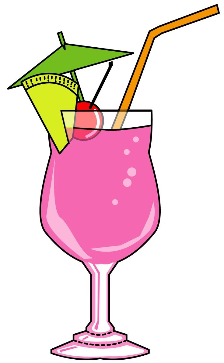 Clipart cocktail vector transparent download A #colorful #cocktail #cocktails #clipart set from Creative Clip Art ... vector transparent download
