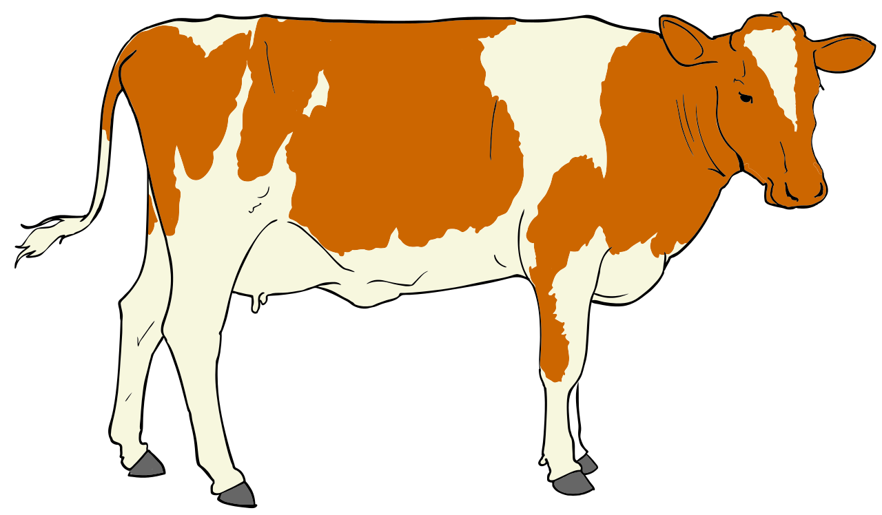 Clipart coe image library download File:Cow clipart 01.svg - Wikimedia Commons image library download