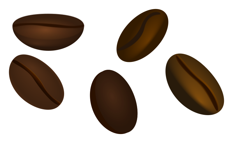 Clipart coffee beans graphic free library Free Clipart: Coffee beans | jarda graphic free library
