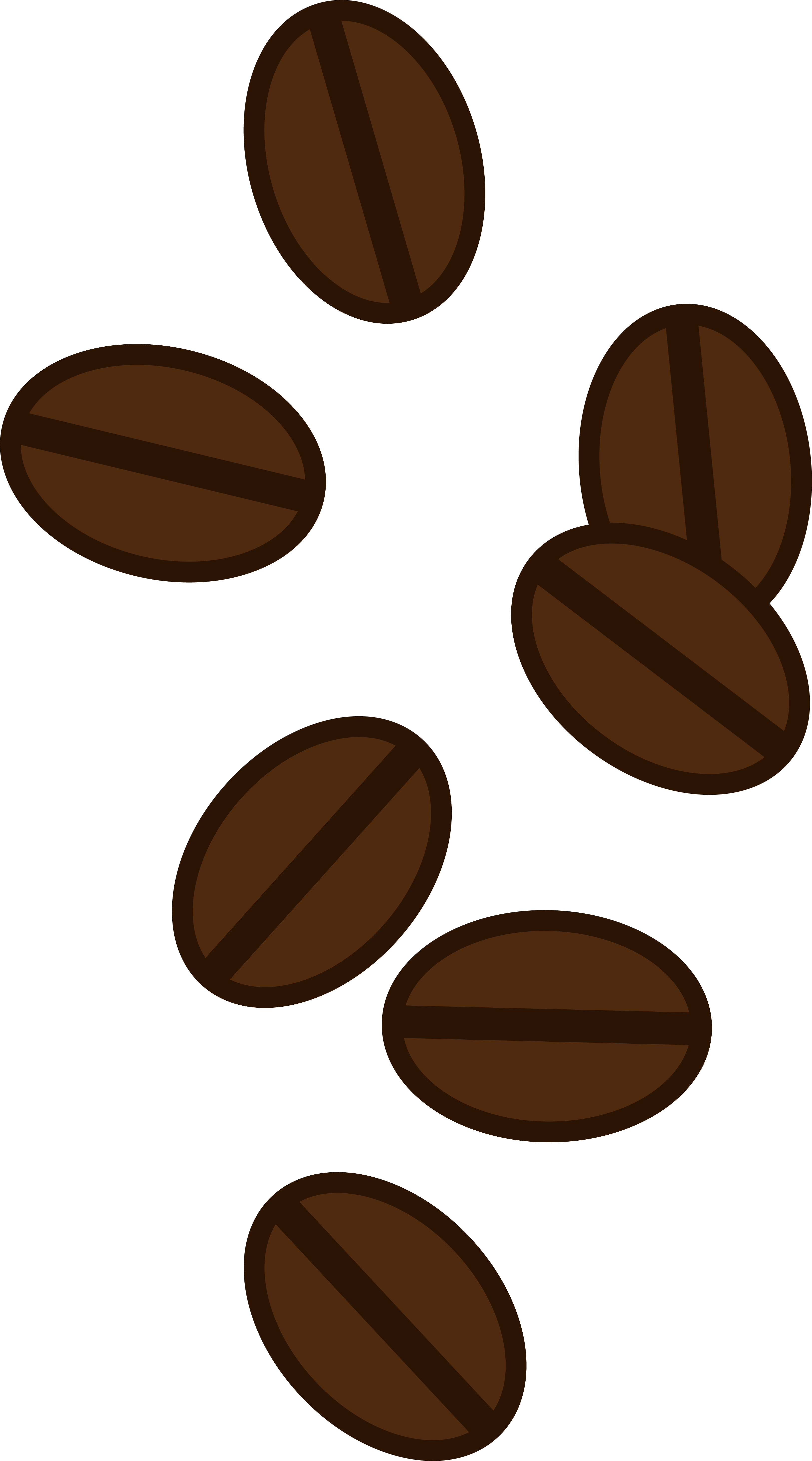 Clipart coffee beans transparent library Coffee Bean Clip Art Free | coffee Clip Art | Coffee steam, Coffee ... transparent library